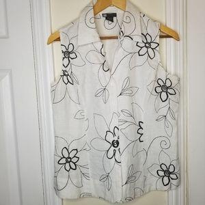 Carole Little sleeveless shirt
